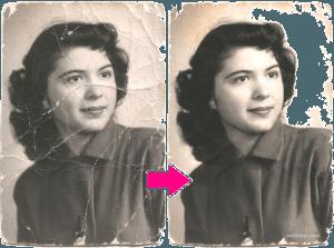 реставрация фото, ретушь фото, восстановление фото