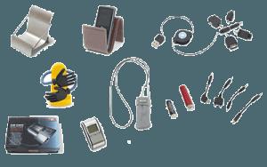 Компьютерное оборудование, шнуры и кабели:
